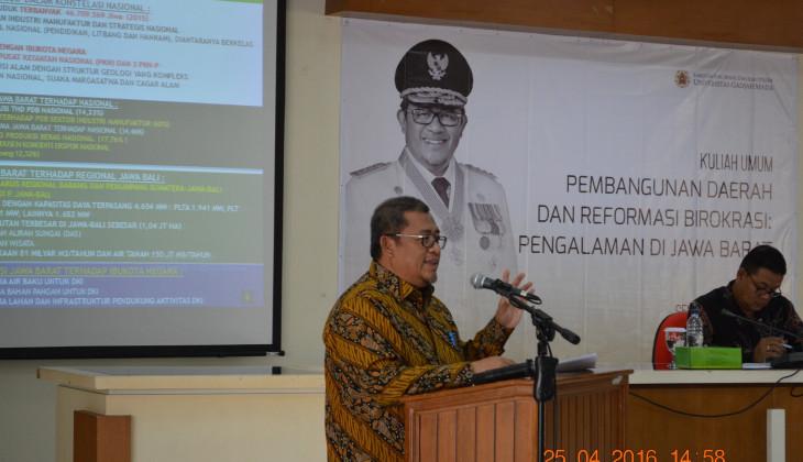 Ahmad Heryawan: Pembangunan Mutlak Lestarikan Alam