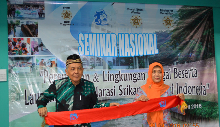UGM Launching Srikandi Sungai Indonesia
