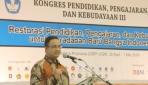 Mendikbud Dukung Restorasi Pendidikan di Indonesia
