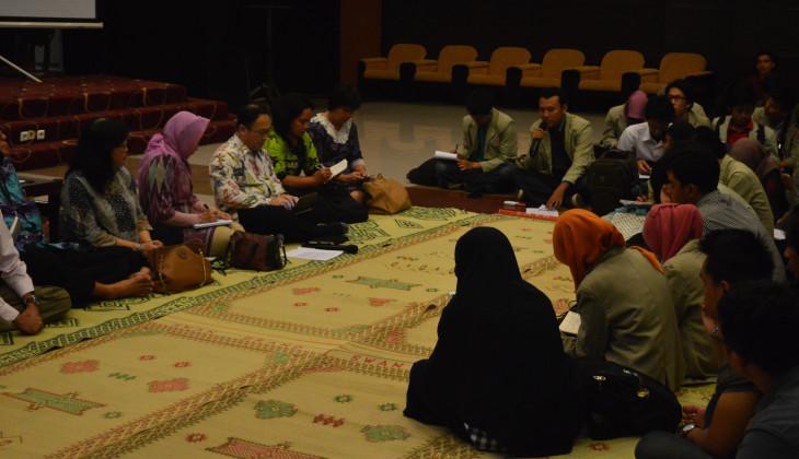 Dialog Rektorat dan Mahasiswa Bahas Rancangan SK Rektor