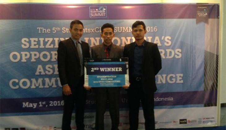 Tim FEB UGM Juara 2 Kompetisi Kasus Strategi Bisnis Nasional