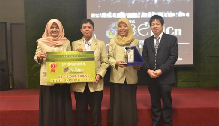 Mahasiswa UGM Juara 1 EFiCn 2016