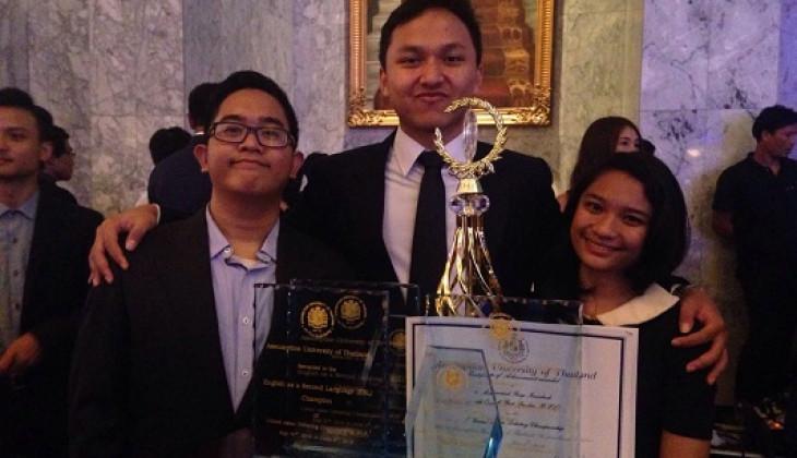 EDS UGM Juara Kompetisi Debat se-Asia