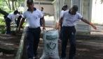 UGM dan TNI AL Kerja Bakti Peduli Lingkungan UGM