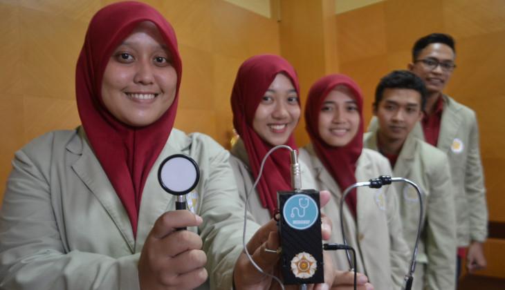 Mahasiswa UGM Kembangkan Alat Perekam Suara Jantung