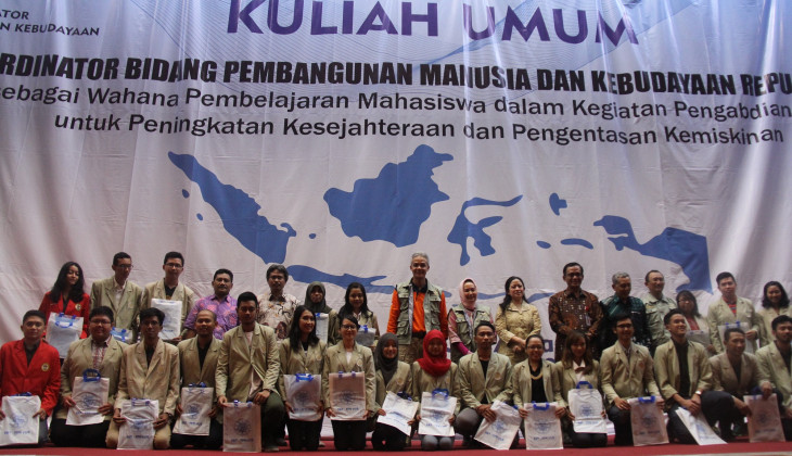 Contributing to Indonesia: 5,813 Students Join the Community Service Programme