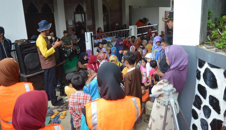 UGM Mengadakan Sosialisasi Siaga Bencana di Karangkobar