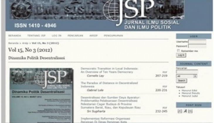Fisipol UGM Segera Luncurkan Jurnal Ilmu Sosial dan Ilmu Politik Online
