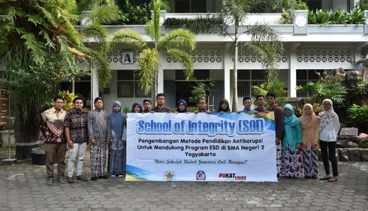 "PUKAT FH UGM Luncurkan Program ""School of Integrity"""