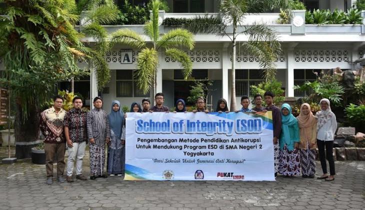 "PUKAT FH UGM Luncurkan Program ""School of Integrity"""