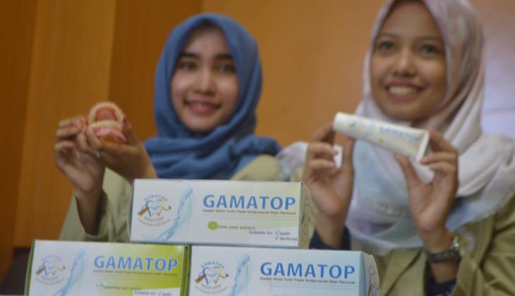 Universitas Gadjah Mada Gamatop Pasta Gigi Herbal Inovasi