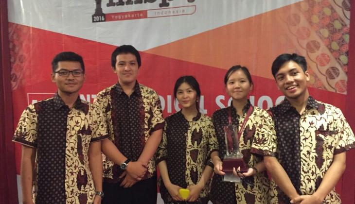 Mahasiswa FK UGM Menang Olimpiade Fisiologi Internasional