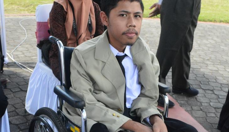 Disabilitas Bukan Halangan bagi Fahmi