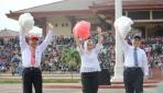 Mahasiswa Baru UGM Mempromosikan Perdamaian Dunia Lewat Lambang United Nations