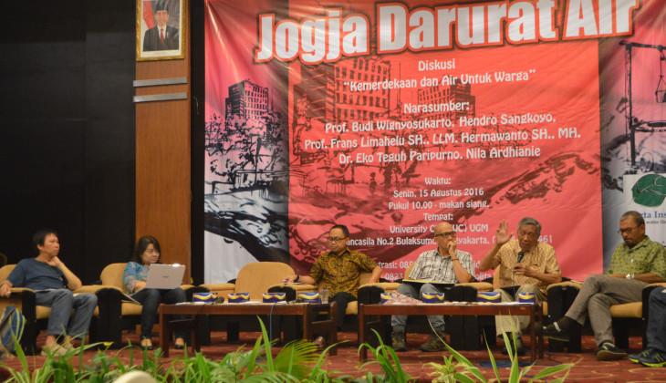 Banyak Hotel Baru, Lima Kecamatan Yogyakarta Krisis Air