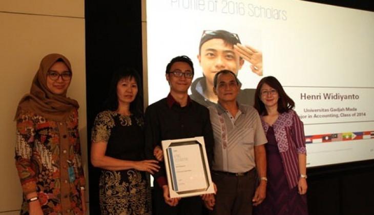 Henri Widiyanto Terima Beasiswa Bergengsi KPMG ASEAN Scholarship