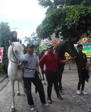 Terapi Autis Dengan Berkuda