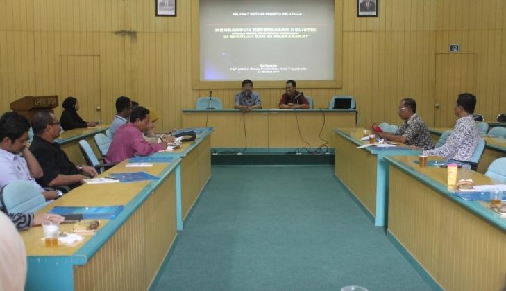 PSP UGM Mengadakan Pelatihan Model Pencegahan Kekerasan di Sekolah
