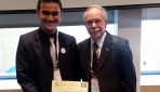 Mahasiswa UGM Raih Best Abstract Award pada 35th International Geological Congress di Afrika Selatan
