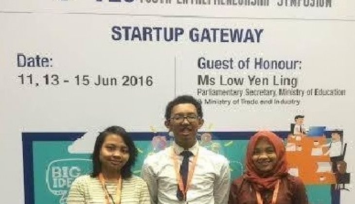 Mahasiswa UGM Berpartisipasi dalam Youth Enterpreneurship Symposium, Singapura