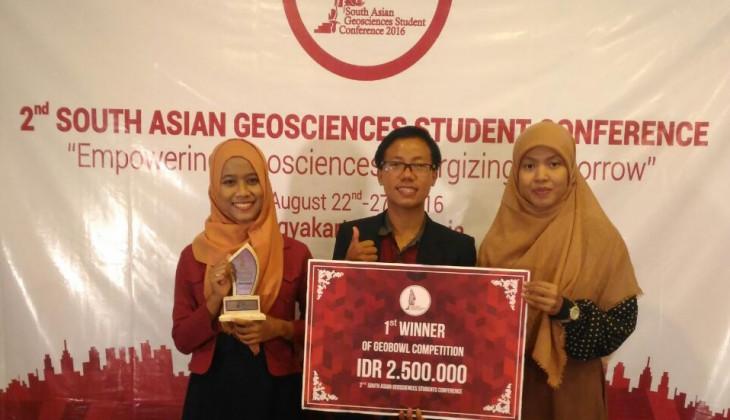 UGM Borong Juara Kompetisi Geosains Tingkat ASEAN