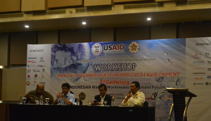 Perlu Standarisasi dan Validasi Teknologi Pengolahan Air Limbah