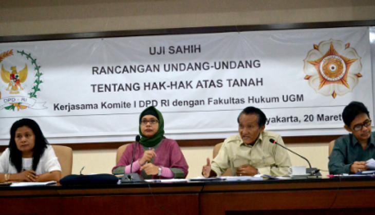 Kepemilikan Tanah Kian Timpang, DPD RI Usulkan RUU HAT