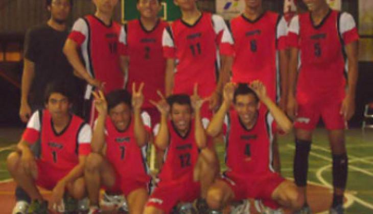 Tim Voli Putera UGM Raih Juara III Atmajaya Volley Ball Competition 2012