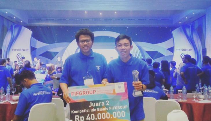Tim Sawah Kita Raih Juara 2 Kompetisi Ide Bisnis FIFGroup