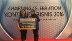 Tim Fantastico UGM meraih juara harapan 3 kompetisi bisnis FIFGroup 2016.