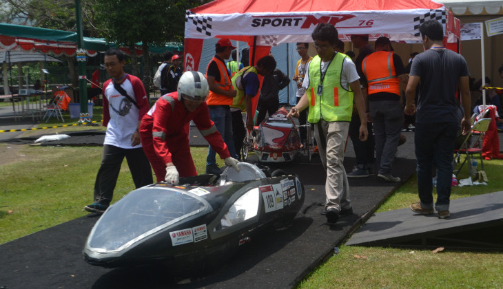 Universitas Gadjah Mada Kembalinya Si Pitung Dalam Kontes Mobil