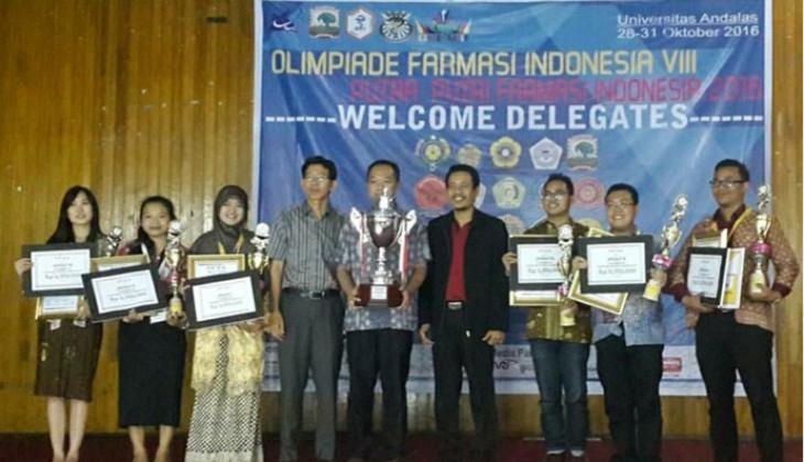 Mahasiswi Farmasi Raih Emas pada Olimpiade Farmasi Indonesia VIII