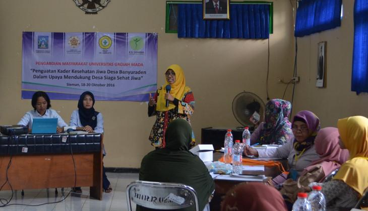 RS UGM Menginisiasi Desa Siaga Sehat Jiwa