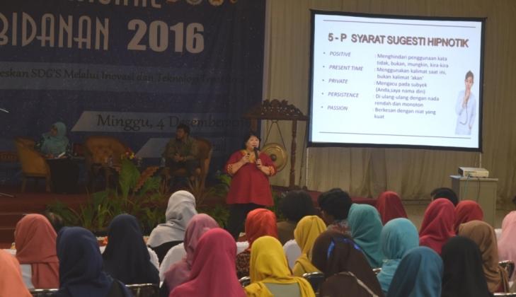 Bidan Berperan dalam Pencapaian Target SDGs