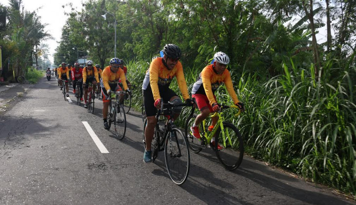 UGM akan menggelar Gowes Jelajah Muria-Merapi. Selama tiga hari, (16-18/12) peserta akan bersepeda sejauh 300 Km dari Jepara menuju Yogyakarta.(Foto: Ilustrasi)