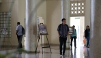 Pameran Perjalanan Sejarah UGM di Balairung