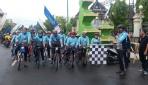 Peserta Gowes Jelajah Muria-Merapi Diberangkatkan Menuju Yogyakarta