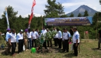Dies ke-67, UGM Tanam 4000 Pohon di Merapi