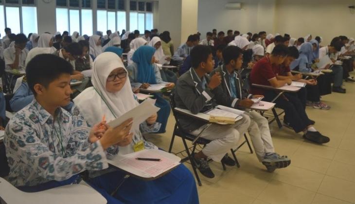 Ratusan Pelajar SMP dan SMA Mengikuti Olimpiade Geografi di UGM