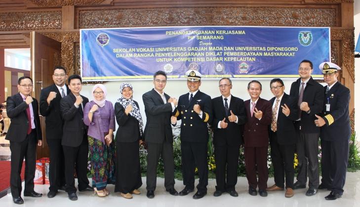 SV UGM Memperkuat Kerja Sama di Bidang Transportasi Laut