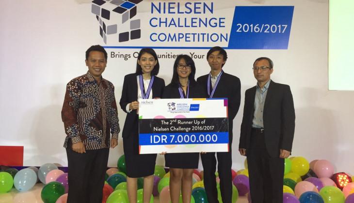 Mahasiswa UGM Juara Kompetisi Pemasaran Nielsen Challenge Competition