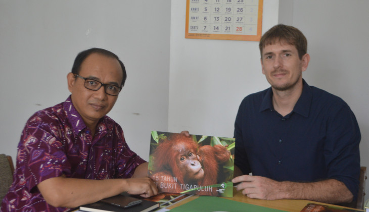 Fakultas Kehutanan dan Frankurt Zoological Society Kerja Sama Konservasi Satwa
