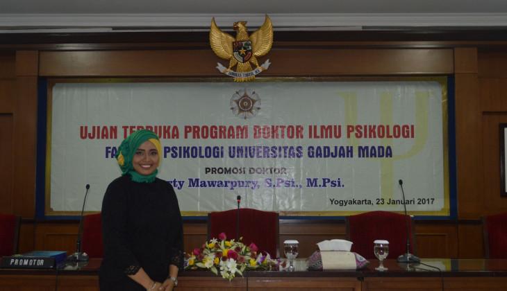 Raih Doktor Usai Teliti Resiliensi Keluarga Penyintas Konflik di Aceh