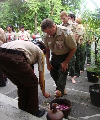 Boy Scouts of America Kunjungi UGM