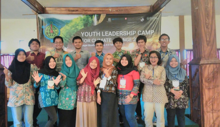 Mahasiswa UGM Ikuti Youth Leadership Camp For Climate Change UNESCO