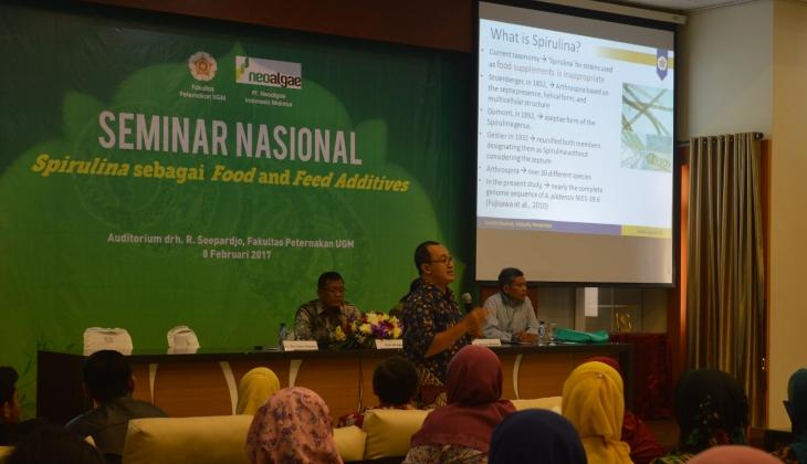Indonesia Potensial Kembangkan Berbagai Produk Spirulina