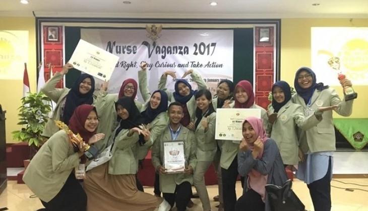 Mahasiswa UGM Juarai Kompetisi Nurse Vaganza Regional Jateng-DIY