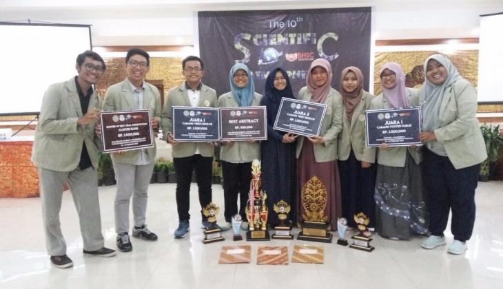 Tim FK UGM Borong Juara Kompetisi Ilmiah Kesehatan Nasional