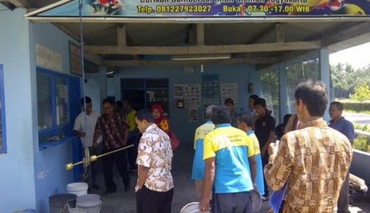 UGM Dampingi Pengembangan UMKM Ikan Air Tawar Korban Erupsi Merapi