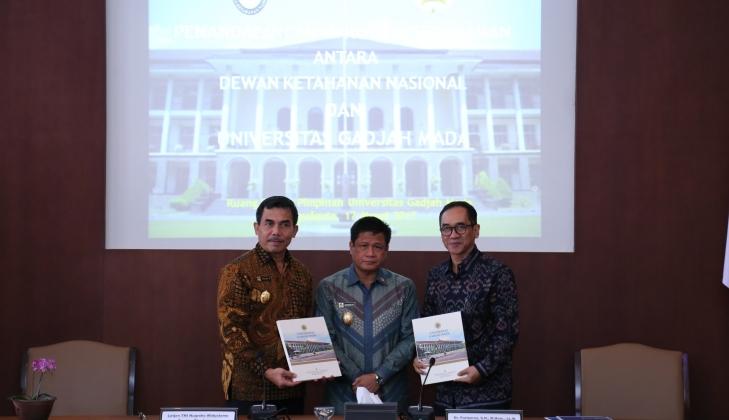 Susun Roadmap Tata Kelola Energi Daerah, Dewan Ketahanan Nasional Gandeng UGM
